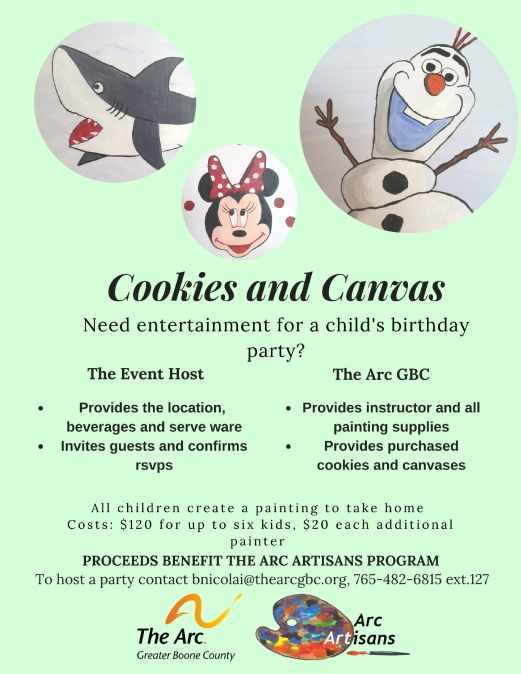cookies and canvas flyer final